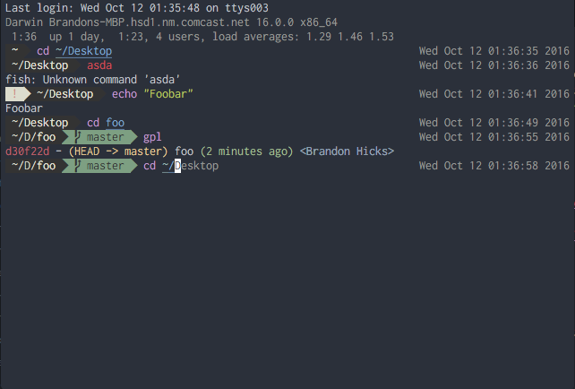 iTerm with Multitabs
